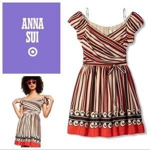 NWOT Anna Sui 20th Anniversary Silk Dress L